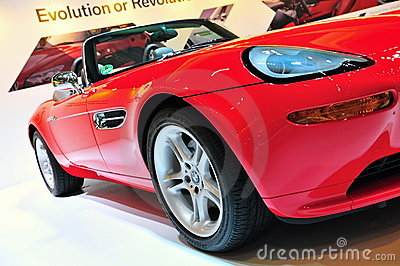 BMW Z8 convertible Editorial Image