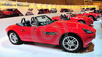 BMW Z8, Z1 and 507 convertible Editorial Stock Photo