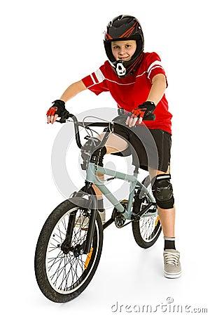Free BMX Biker Stock Photography - 4362272