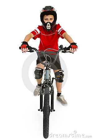 Free BMX Boy Stock Image - 4362291