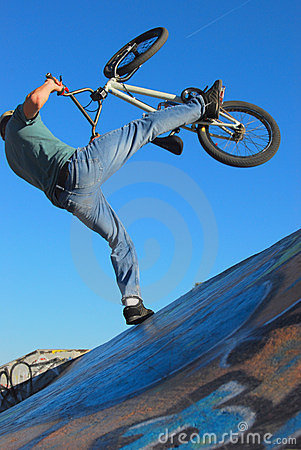 Free BMX Jump Stock Photography - 7328222