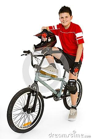 Free BMX Rider Royalty Free Stock Photos - 4362288