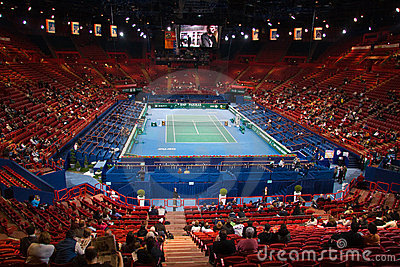 BNP Masters 2009 Centre Court Editorial Photo