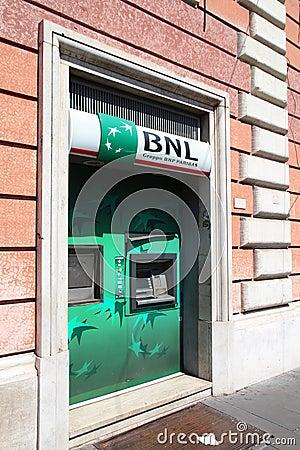 BNP Paribas Editorial Stock Photo