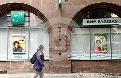 BNP Paribas bank Editorial Photo