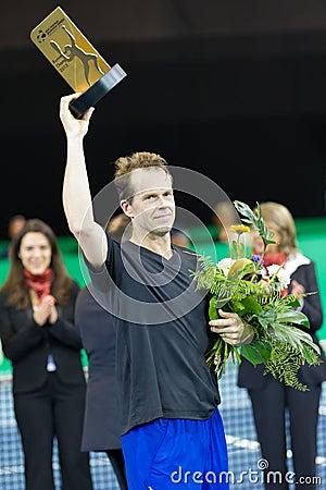 BNP Paribas Zurich Open Champions Tour 2012 Editorial Stock Image