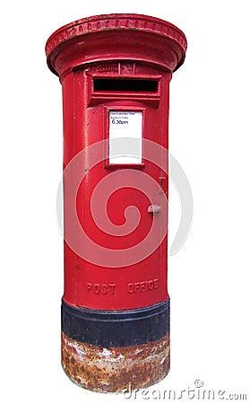 Boîte aux lettres britannique