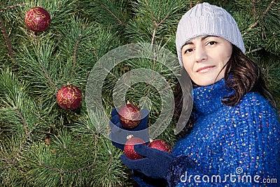 Boże narodzenia target2225_0_ drzewa