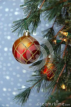Boże narodzenie ornamentu drzewo