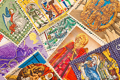 Boże narodzenie znaczki
