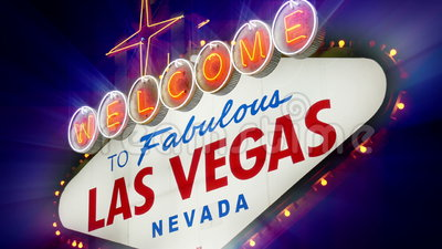 Boa vinda a Las Vegas fabuloso Nevada Sign (Loopable) filme