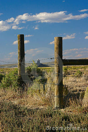 Boar s Tusk through Old Fence