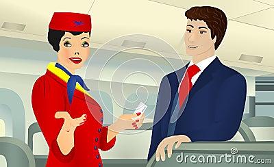 On board, cdr vector