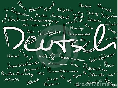 Board with Deutsch (German)