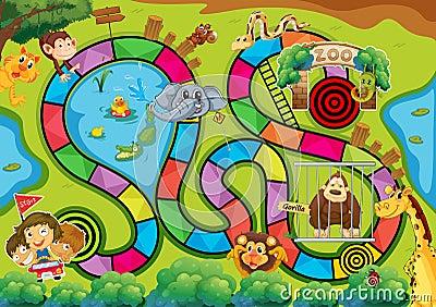 Board game Vector Illustration