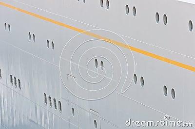 Board of a transatlantic sea liner