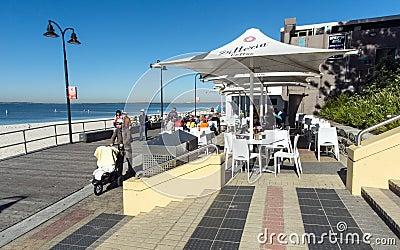 Board walk cafe botany bay Editorial Photo