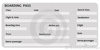 Boarding Pass Template Royalty Free Image Image 15429796 – Boarding Pass Template