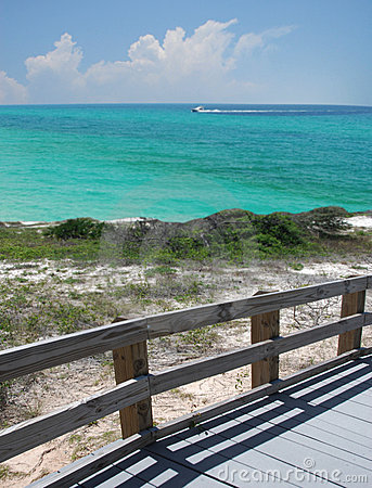 Free Boardwalk At Lookout Royalty Free Stock Photo - 5012585