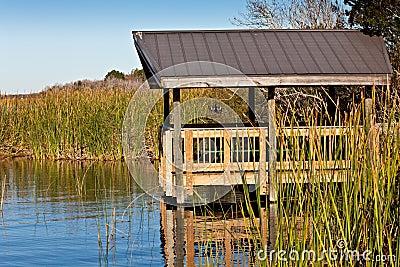 Boardwalk on Florida Lake