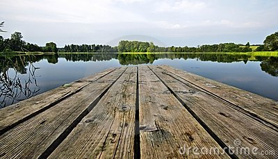 Boardwalk on the Lake