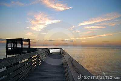 Boardwalk over Laguna Madre