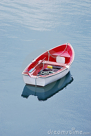 Free Boat Anchored In The Water Royalty Free Stock Photos - 10287498