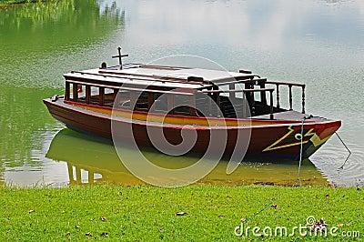 Boat At A Bay