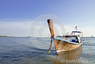 Boat at the beach.
