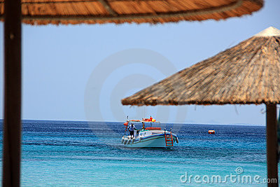 Boat and Beach Umbrellas