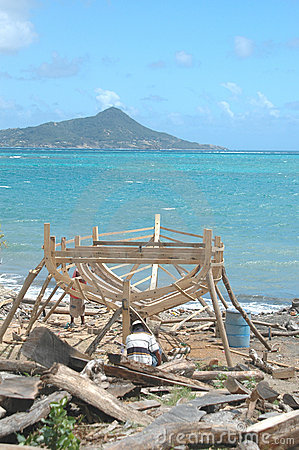 Boat building on Carriacou, Grenada