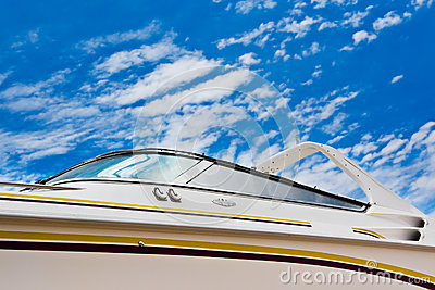 Boat with clipping path