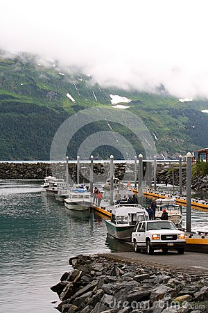 Boat dock Editorial Stock Photo
