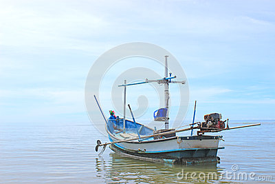Boat of fisherman