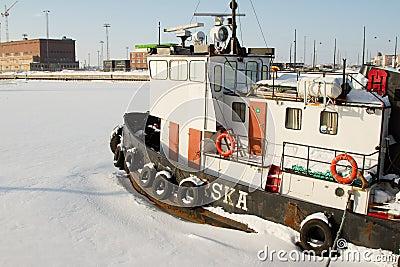 Boat in Helsinki (Finland) Editorial Image