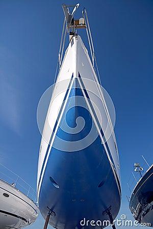 Free Boat In Dry Dock Stock Photo - 4732160