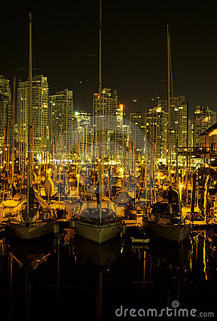 Free Boat In Harbor- Vancouver, Canada Stock Image - 12221661