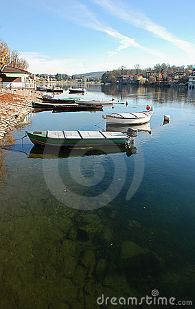 Free Boat In Sesto Calende Royalty Free Stock Images - 17127319