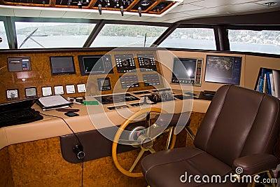 Boat interior