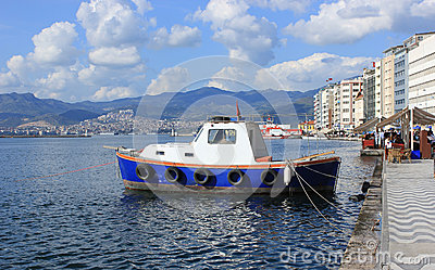 Boat in Izmir (Alsancak)