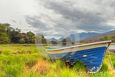 Boat in Killarney National Park - Ireland