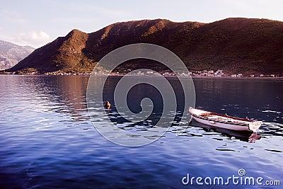 Boat in Montenegro