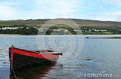 Boat, Mulranny, County Mayo Ireland