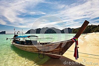 Boat near the beach