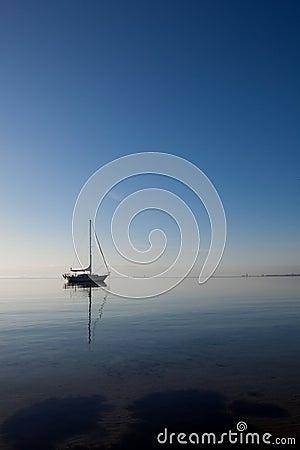 Boat at the ocean