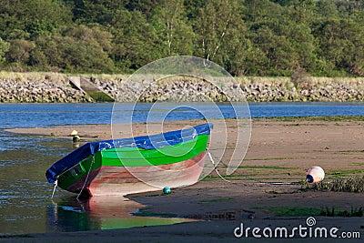 Boat in Oriñon