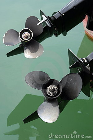 Free Boat Propellers Royalty Free Stock Images - 12224449
