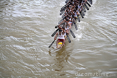 Boat races of Kerala Editorial Photo