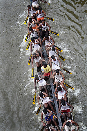 Boat races of Kerala Editorial Image