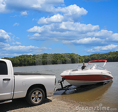 Free Boat Ramp Royalty Free Stock Photography - 5579527
